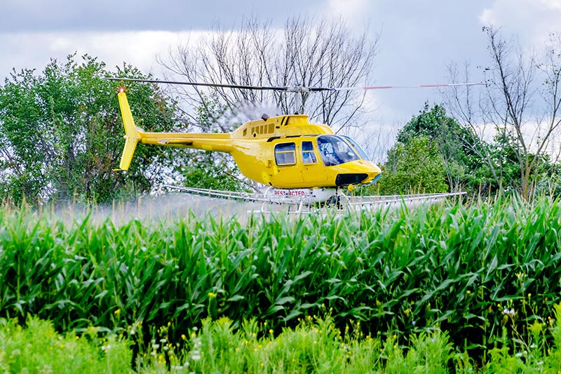 Agricultural Aerial Application in North Carolina