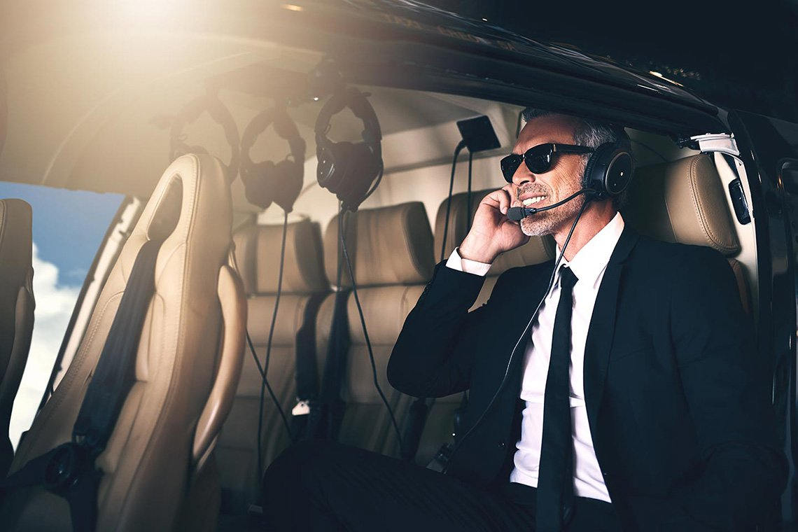 Executive Helicopter Charters in Raleigh