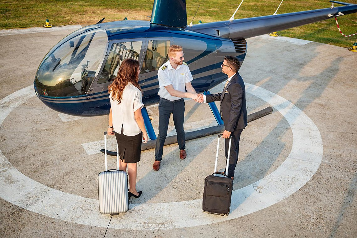 Specialty Helicopter Charters in Raleigh