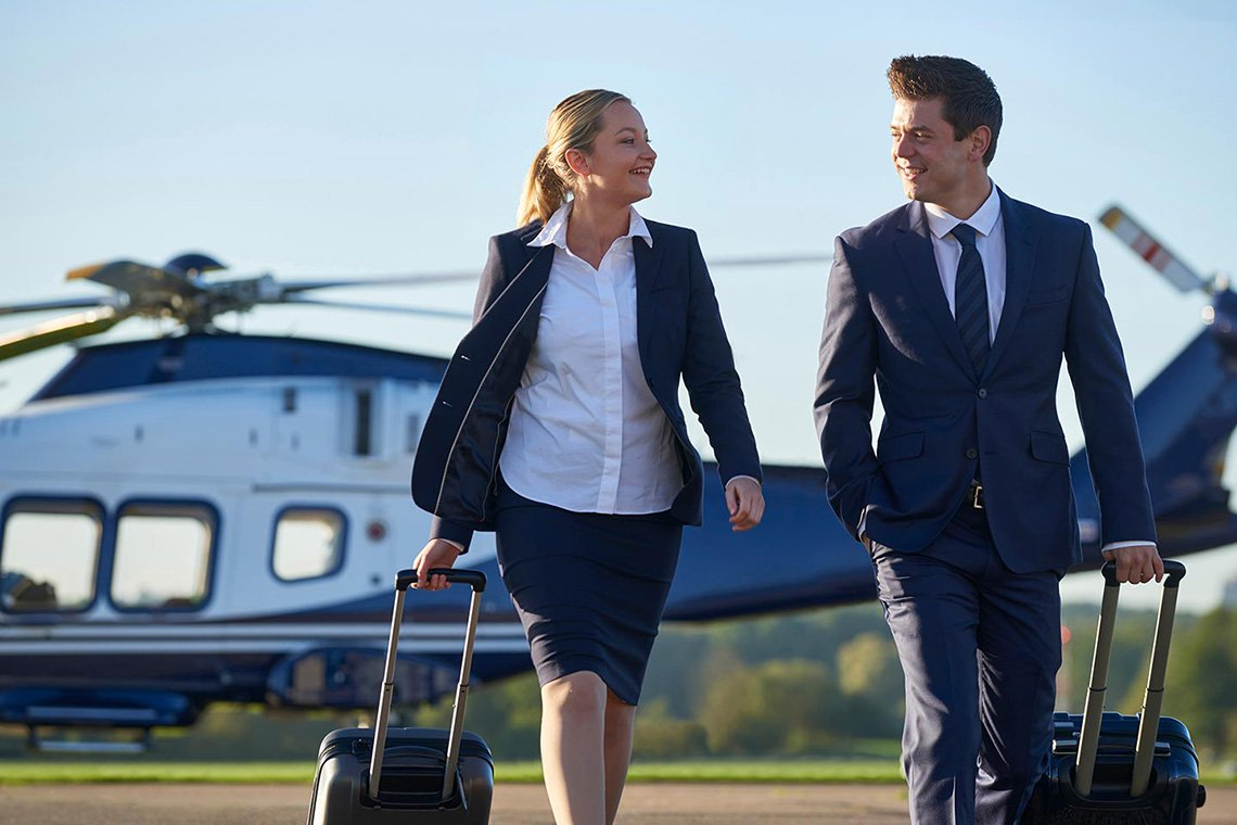 Business Helicopter Charters in Raleigh